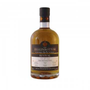 Higginbottom Revival Single Malt Scotch Whisky (Cask 7714)
