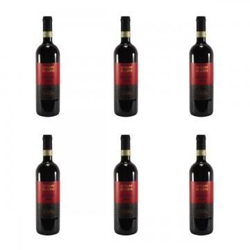 Lanciola Chianti Classico Le Masse di Greve Riserva 2014 - 6 bottles