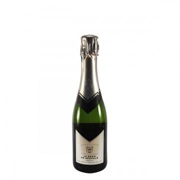 Champagne Le Brun de Neuville Cuvée Chardonnay Blanc de Blancs Brut NV half bottle