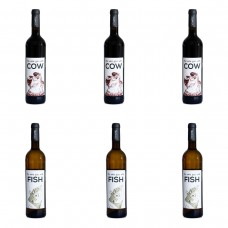 Vinatic Cow & Fish - Mixed Case of 6