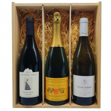 Lant Street Wine Three Bottle Gift Box - Pinot Noir/Cremant/Sancerre